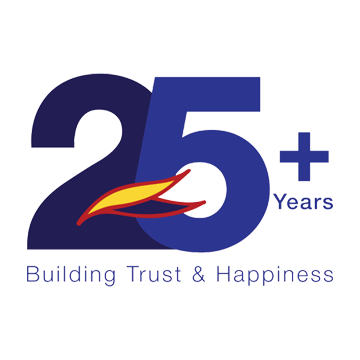 25 Years of Building Trust and Happiness